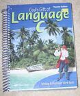A Beka Gods Gift of Language C 2nd Teacher Edition for work text 6th Grade 2001