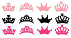 Princess Crowns Cut Out Silhouettes Die Cut Crown Shapes Set of 8