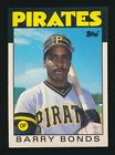 1986 Topps Traded Baseball #11T Barry Bonds Rookie NM/MT c05591