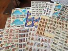 US MINT POSTAGE STAMPS SHEETS MIXED LOT 67396 FACE VALUE DISCOUNT POSTAGE