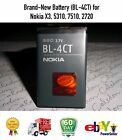 Brand New Battery BL 4CT for Nokia X3 5310 7510 2720