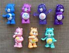 Care Bears Blind Bag Collectible LOT OF 7 *excellent, opened