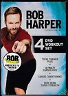 NEW Bob Harper 4 DVD Workout Set Total Trainer Plus Ultimate Cardio Strength