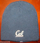 WOMENS UNIVERSITY CALIFORNIA CAL BERKLEY NEW ERA CAP BLUE GLITTER KNIT Beanie