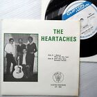 THE HEARTACHES acappella doowop Near MINT CLIFTON 45 4 song pictsleeve ep F2495