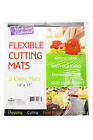 Nicole Home Collection Flexible Cutting Mats 2 Clear Mats 12 x 15