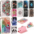 Magnetic Flip Stand Card Wallet Leather +TPU Case Cover For Huawei Samsung iPhon