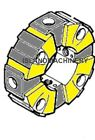 CASE EXCAVATOR HYDRAULIC PUMP COUPLING REPLACES 169333A1