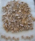 500 Genuine Scrabble Tiles Letters Wood Craft Scrapbooking Jewelry Wedding Signs