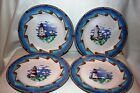 Omnibus Fitz and Floyd 4 Shore Lights Dinner Plates Never Used
