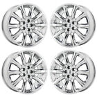 20 LINCOLN MKT MKX PVD CHROME WHEELS RIMS FACTORY OEM SET 4 3825