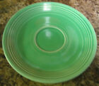 HOMER LAUGHLIN FIESTA SAUCER 1 pc VINTAGE RETIRED COLOR MEDIUM GREEN*RARE*
