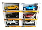 JADA 1 32 BIGTIME MUSCLE 20003 W88 DIECAST CARS SET OF 6 FORD CHEVY SHELBY GT