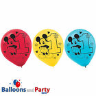 15 Disney Mickey Mouse Fun One 1st Birthday Party 12 Printed Latex Balloons