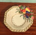 Vintage FITZ & FLOYD Classics MAJOLICA Florentine Fruit Berry Bowl Hand Painted