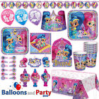 Shimmer and Shine Birthday Party Tableware Decorations Supplies