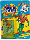 Super Powers Vintage Kenner 1984 Series 1 12 Back Aquaman Card Back with Bubble