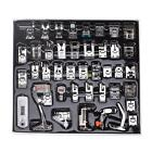 42PC Domestic Sewing Machine Foot Presser Feet Set For Brother Singer Janome Kit