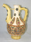 Antique Zsolnay Pecs Hungary Pottery Pitcher / Ewer