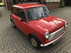 LARGER PHOTOS: 1993 ROVER MINI SPRITE RED 1275cc CLASSIC 21778 MILES WARRANTED ALL OLD MOT'S