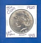 1925 P BU GEM PEACE SILVER DOLLAR COIN 4148 UNC MS+++ US MINTRARE