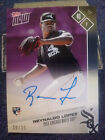 2017 Topps NOW Road To Opening Day Numbered 20 25 Auto Rookie Reynaldo Lopez