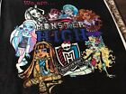 MONSTER HIGH BY DAVID TEXTILES FLEECE PRINTED FABRIC Panel 60 by 49