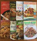 Weight Watchers Cookbooks Recipes Takeout Comfort Stir Fry Turn Around Lot of 8
