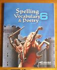 A Beka Spelling Vocabulary  Poetry Student Workbook Grade 6 6th Edition NEW