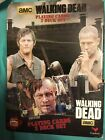 THE WALKING DEAD PLAYING CARDS 2 DECKS TIN CASE SURVIVORS  ZOMBIES