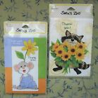 SUZYS ZOO Vtg THANK YOU Cards 2 Packs 10 each w env RACOON