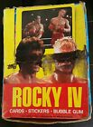 1985 Topps Rocky IV Hobby Box - 34 Unopened Packs