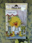 SUZYS ZOO Vtg THANK YOU Notes 1 Pack 10 Cards w env DUCK  APPLE PIE Sealed