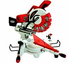 Lumberjack SCMS305DB Mitre Saw 12 inch 305mm Sliding Compound Double Bevel 240v