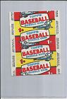 1957 Topps Baseball Card Wax Wrapper Beautiful Condition!