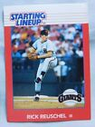 1988 Starting Lineup Rick Reuschel Giants Baseball Card