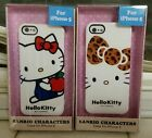 Set of 2 Hello Kitty iPhone 5 Hard Plastic Phone Cases White with HK NIP 2012