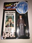 1987 Dapol Doctor Who The Fourth Doctor Tom Baker Figure New In Package