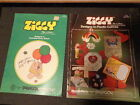 ZIGGY TOM WILSON CROSS STITCH NEEDLECRAFT PATTERN BOOKS x2 PARAGON 5080