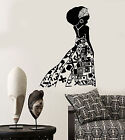 Vinyl Wall Decal African Girl Black Woman Native Ethnic Style Stickers 1422ig
