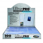 Pro Card Sleeves Ultra Sports Pocket Baseball Box 100 Pages Storage Protector