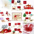 BIRTHDAY  ANNIVERSARY  WEDDING  Pop Up Cards 3D and Greeting Cards Invitation