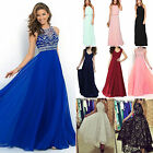 Womens Wedding Maxi Long Prom Dresses Formal Evening Party Bridesmaid Ball Gowns