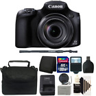 Canon PowerShot SX60 HS 161MP Optical Zoom Digital Camera + 32GB Accessory Kit