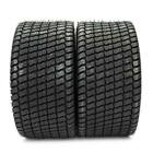 TWO 23/10.50-12 Lawnmower/Golf Cart Turf Tread 4 ply Tires New Black