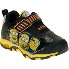 NWT Boys Light Up Despicable Me Minions Sneakers Size 7 8 9 10 11 or 12 Kevin