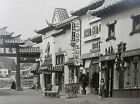 Gin Ling Way Chinatown Los Angeles CA Broadway OLD RPPC Postcard Quillen Image