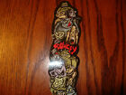 FLIP SKATEBOARDS OLD RARE GEOFF ROWLEY STRANGE MONSTERS SKATEBOARD STICKER