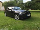 LARGER PHOTOS: 2008 BMW 118I SE 1 SERIES BLACK CONVERTABLE SEMI AUTO E88 GREAT FOR SUMMER !