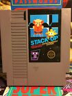Stack-Up Nintendo NES Black Box Game Cart Only Free Shipping Stack Up